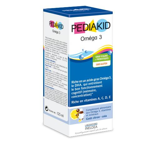 Pediakid Omega 3 bổ sung omega 3 và DHA cho trẻ