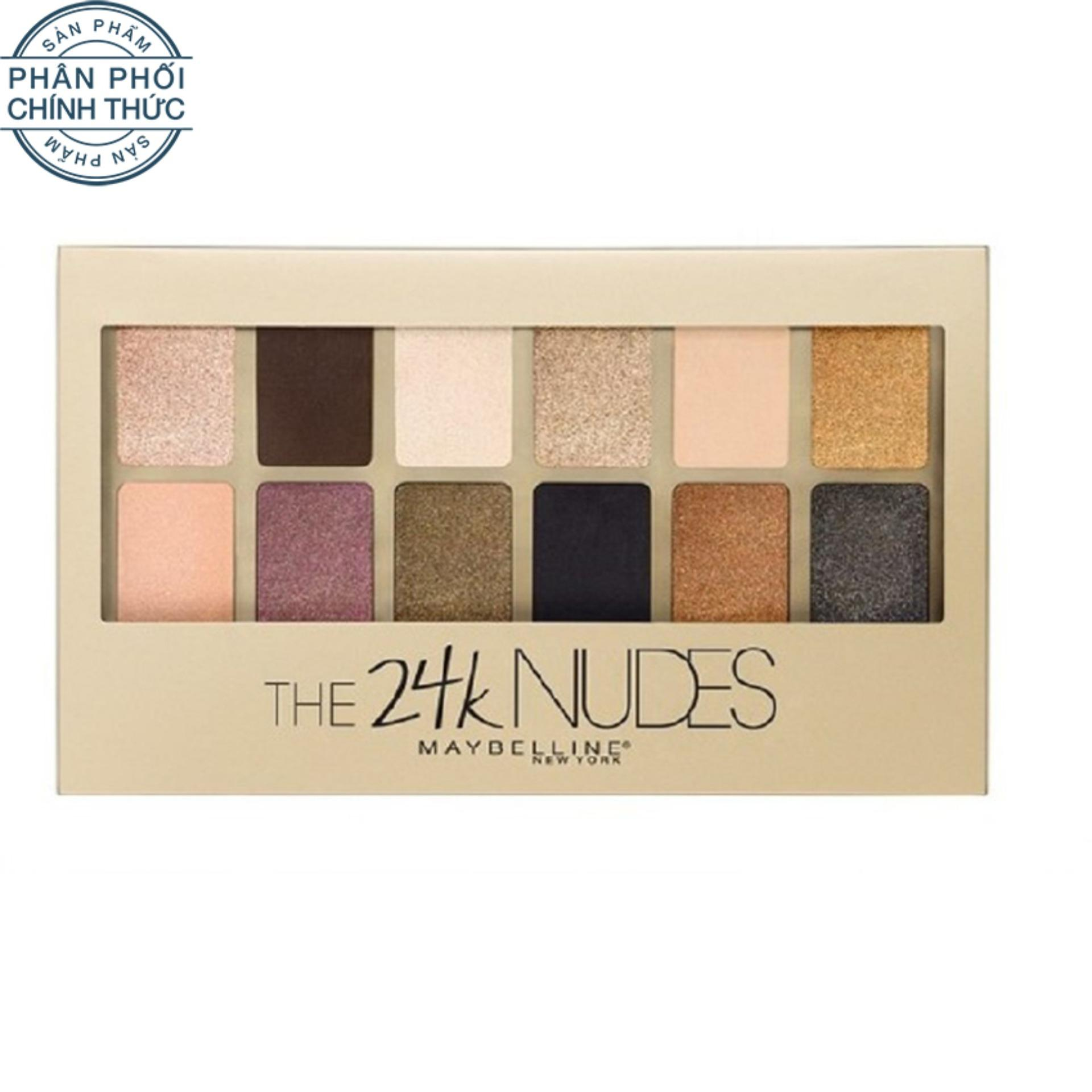 Bảng Phấn Mắt Maybelline New York The N*d*s Palette 12 Mau 9G Tong Anh Kim Rẻ