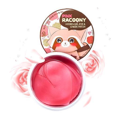 Hộp 30 Miếng Mặt Nạ Dưỡng Vùng Mắt và Má Secret Key Pink Racoony Hydro-Gel Eye & Cheek Patch