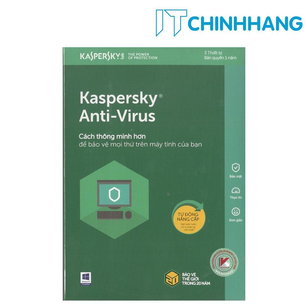 Hình ảnh Kaspersky Anti-Virus Security 3PC (1 năm) - Hãng Phân Phối Chính Thức