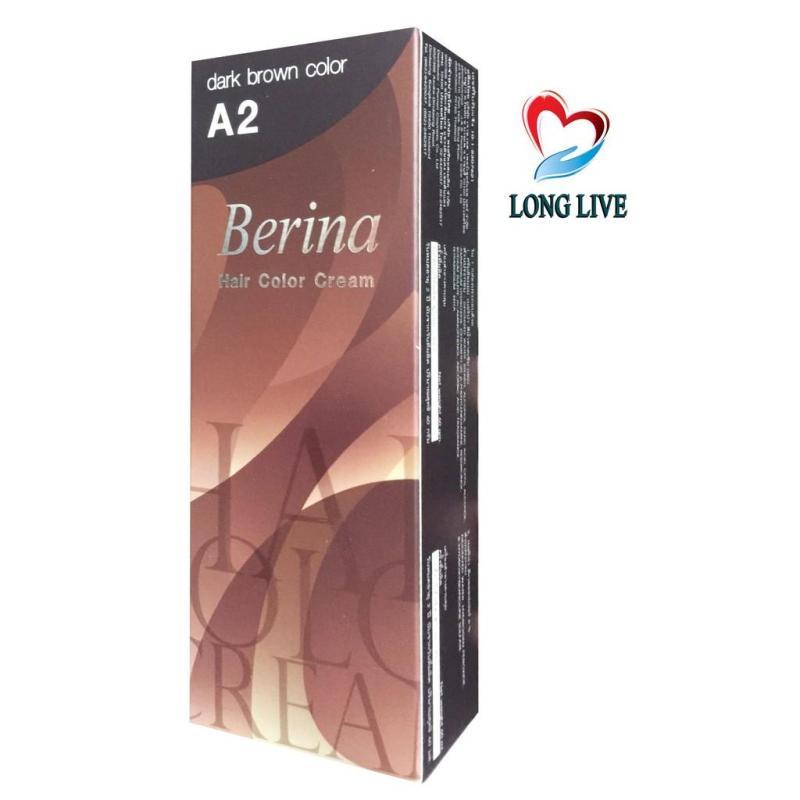 Thuốc nhuộm tóc Berina A2 - Thái Lan (nâu) cao cấp