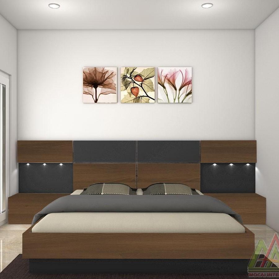 Giường ngủ hiện đại Mộc Ái MA24418