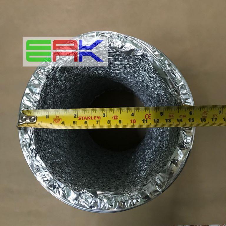 Hình ảnh Ống gió bạc mềm D150mm