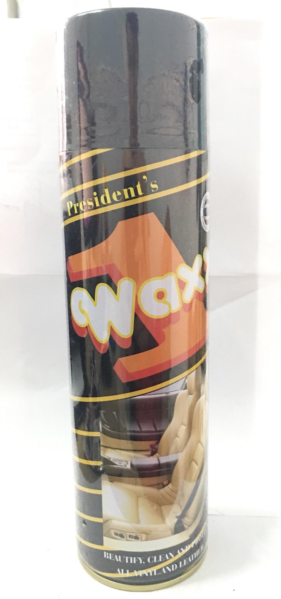[HCM]Chai Xịt Đánh Bóng Da Đồ Gỗ Đồ Nhựa WAXX 1 Dung Tích 500ml Làm Sạch Đồ Da Hiệu Quả Tăng Độ Bền