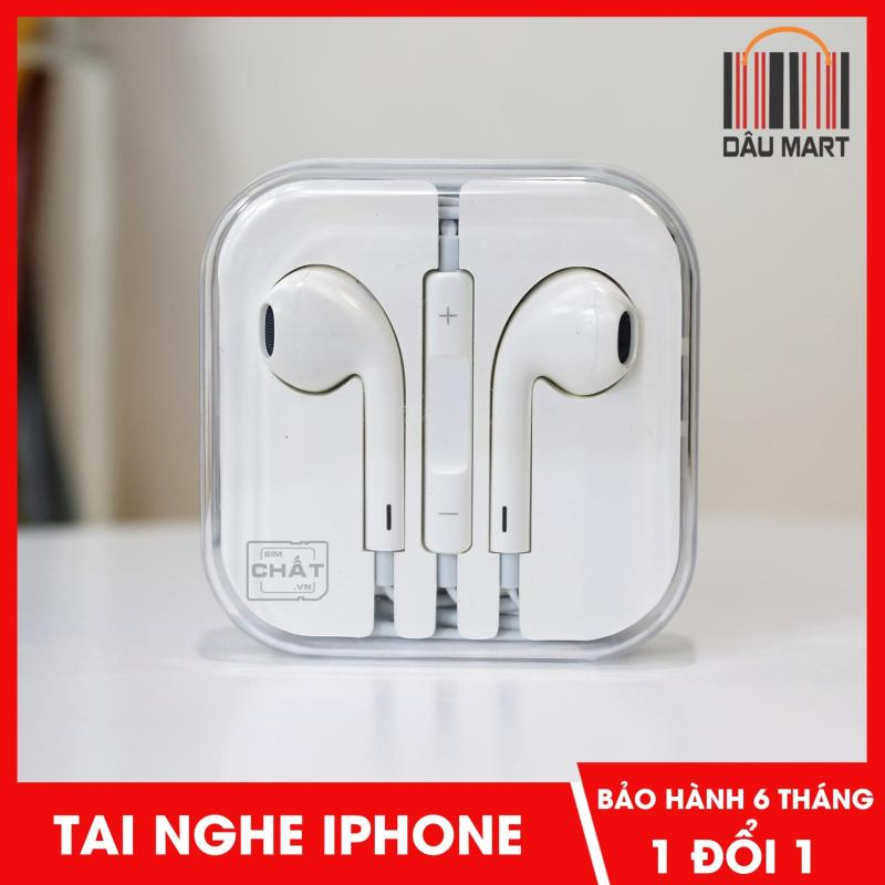 Tai Nghe Cho IPHONE 5 - 5S - 6 - 6S - 6S Plus (Trắng)