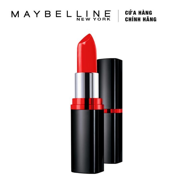 Son thỏi Maybelline Color Show Matte M203 Hot Chili 3.9g (Đỏ rực)