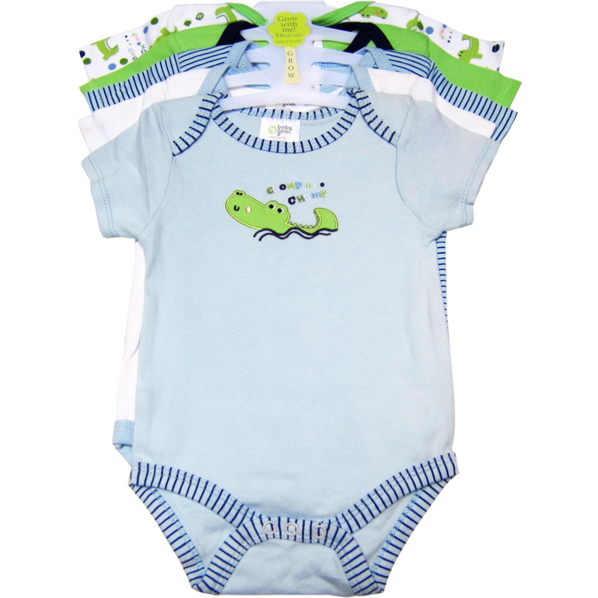 Mua Bộ 5 Ao Liền Quần Be Trai Từ 3 Đến 9 Thang Bg Mau Sắc Ngẫu Nhien Baby Gear