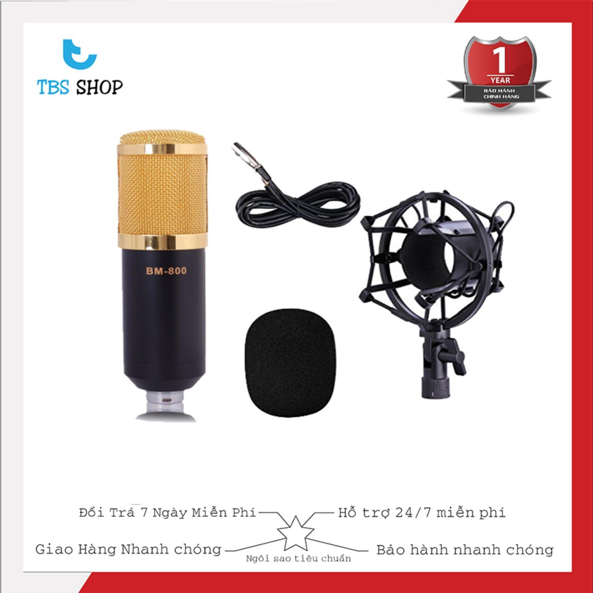 Hình ảnh Micro Thu Âm Bm800 Giá Rẻ, Hát Karaoke