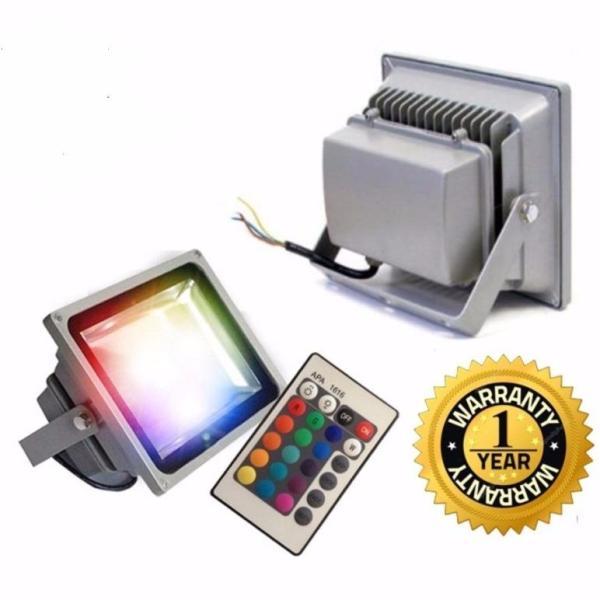 Đèn pha led 16 màu trang trí Spotlight 10w - bảo hành 12 tháng (có điều khiển)