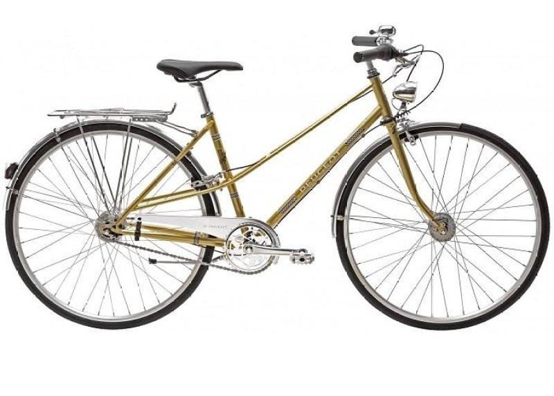 Phân phối xe đạp thể thao đường phố PEUGEOT LC01 N7 (LUXURY GOLD) (huyền thoại xe Pháp trở lại)