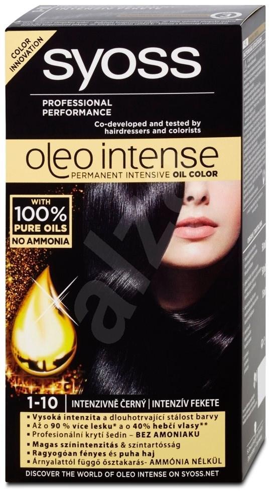 Thuốc nhuộm tóc (đen) nhập khẩu SYOSS Oleo Intense 1-10 Intense Black 50 ml ( đen)
