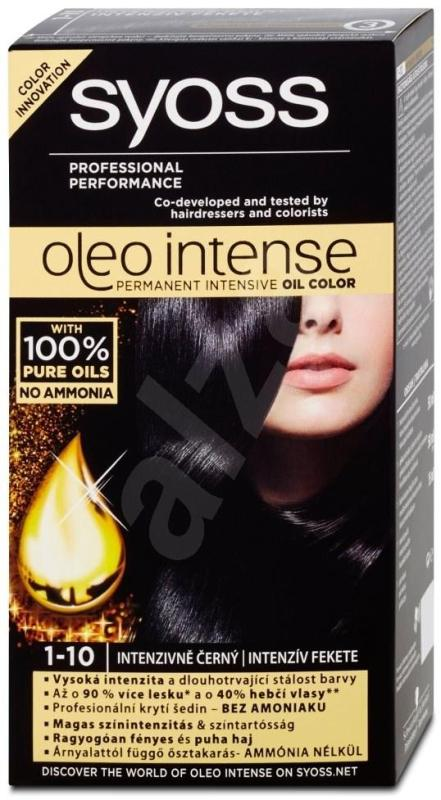 Thuốc nhuộm tóc (đen) nhập khẩu SYOSS Oleo Intense 1-10 Intense Black 50 ml ( đen) cao cấp