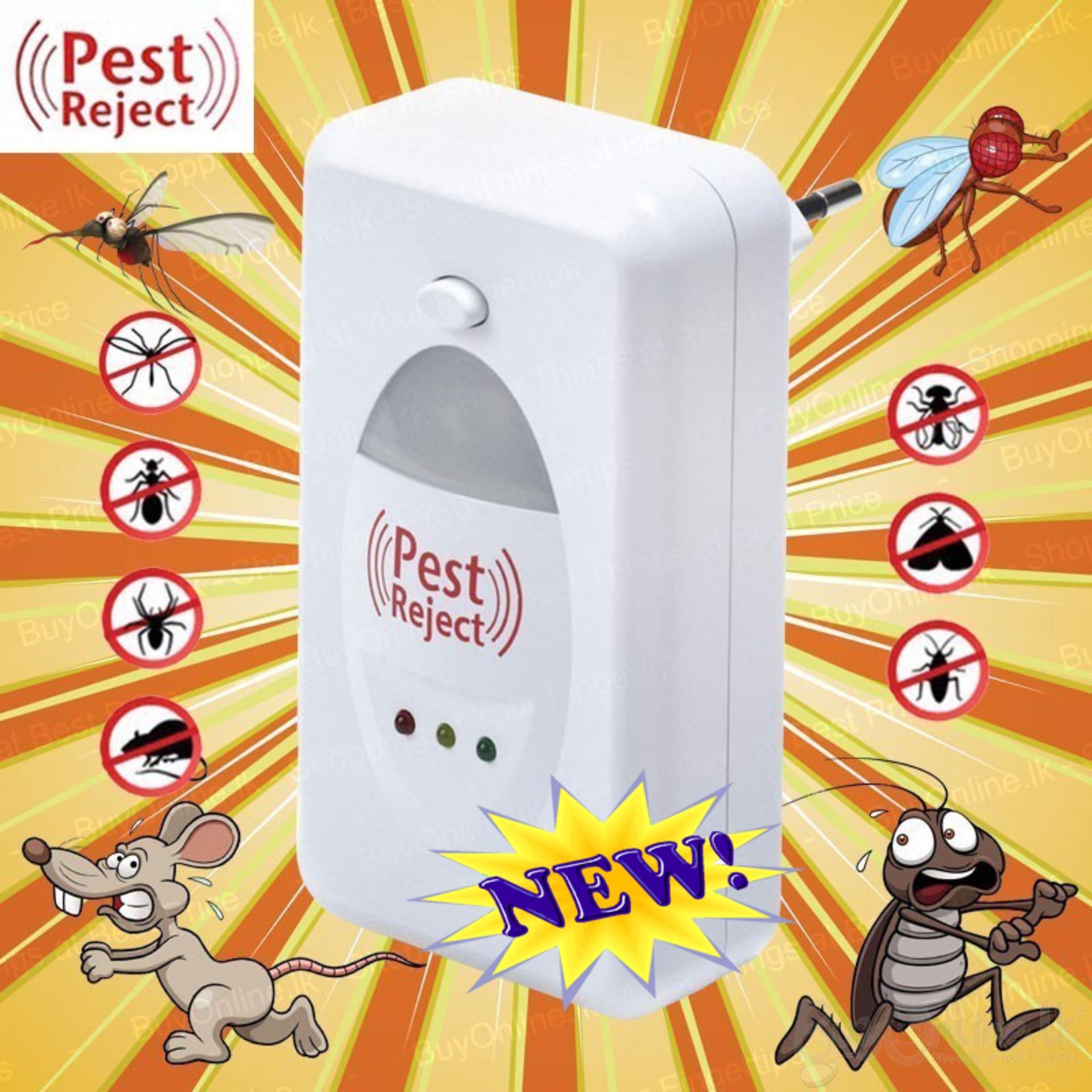 Máy Đuổi Muỗi Côn Trùng Pest Reject Cao Cấp, Đuổi Muỗi Diệt Côn Trùng Bằng Sóng Âm, Hiệu Quả, Không Gây Hại Cho Sức Khỏe, Bh Uy Tín 1 Đổi 1 Bởi Kingtech