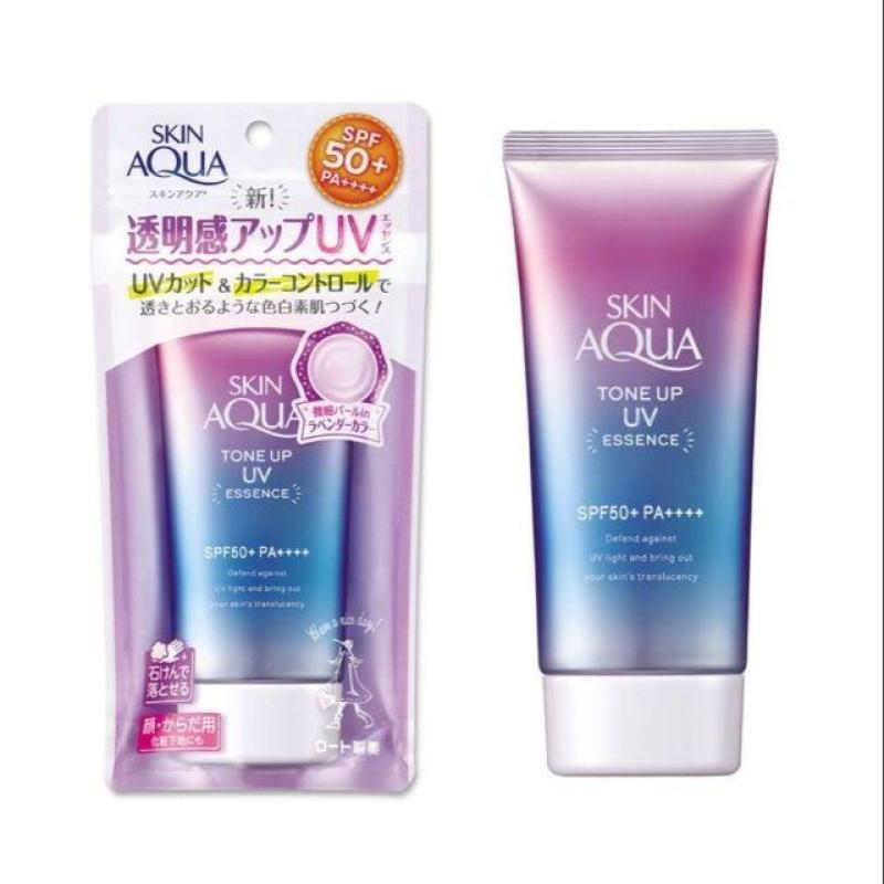 Kem Chống Nắng Skin Aqua Tone Up UV Essence SPF 50+ PA++++ 80G nhập khẩu