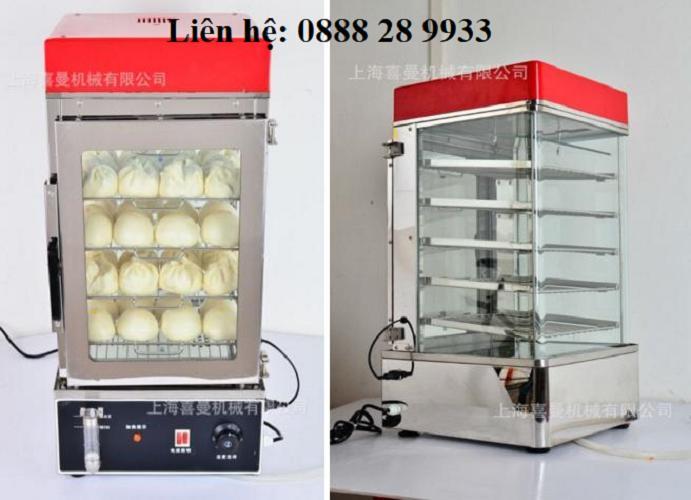 Tủ hấp bánh bao inox 5 tầng H-500