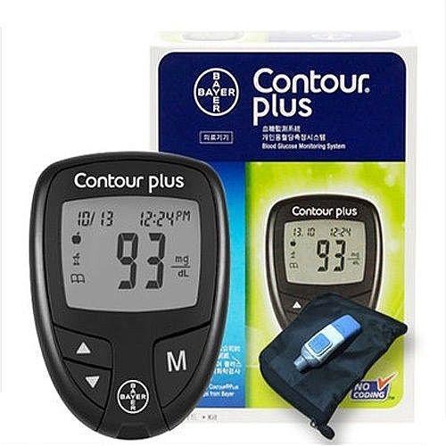 Máy đo đường huyết Bayer Contour Plus (made in Đức)