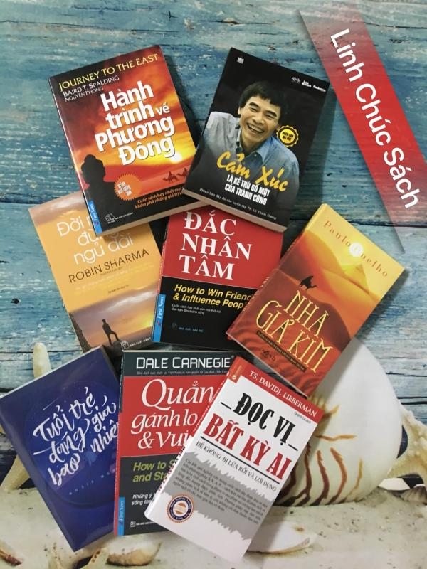 Mua Combo 8 Sách Kỹ Năng Hay Nhất: Phương Đông - Cảm Xúc - Đời Ngắn - Đắc - Giả Kim - Tuổi Trẻ - Quẳng Gánh Lo - Đọc Vị