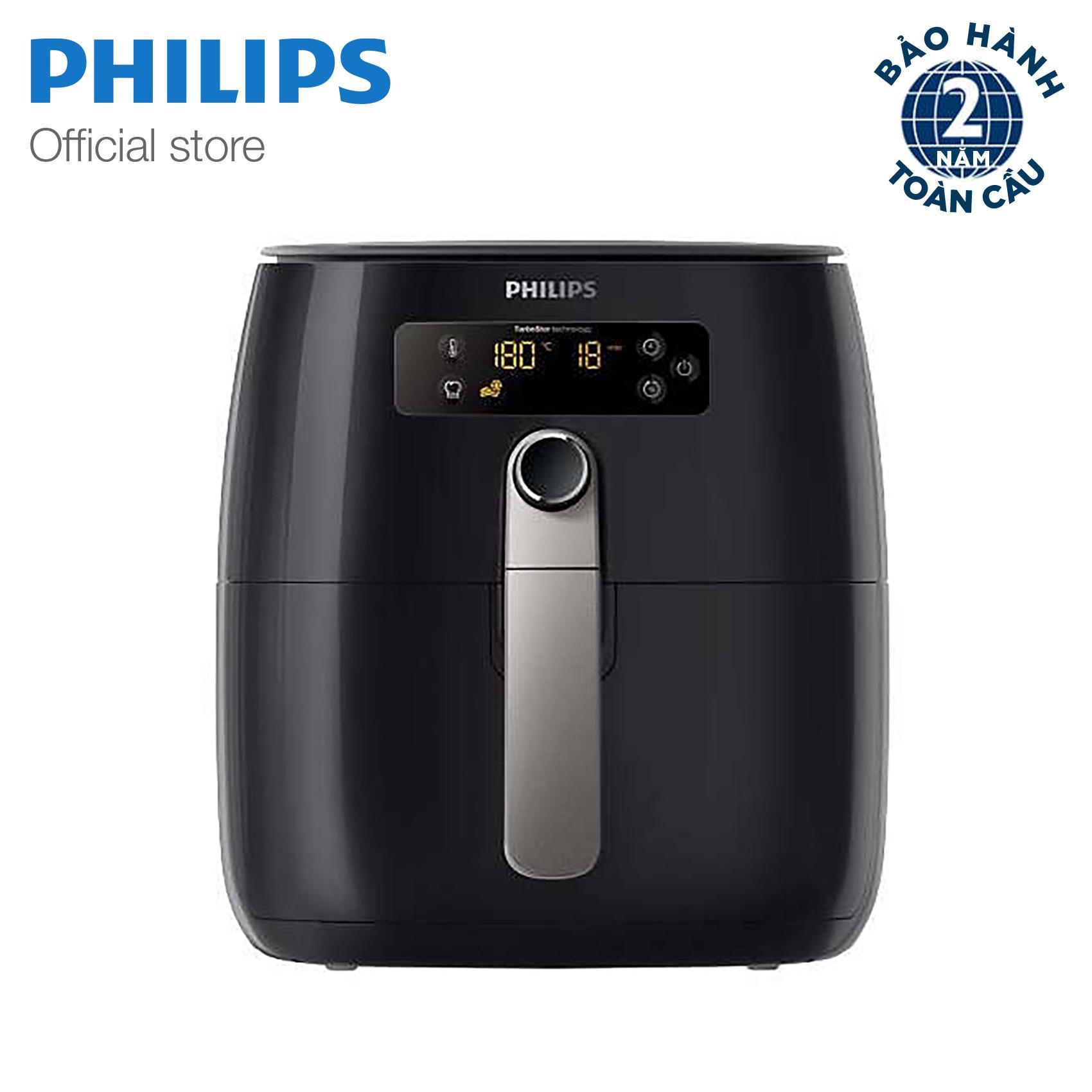 Hình ảnh Nồi chiên không khí Philips HD9643 (Đen) Hãng Phân phối chính thức