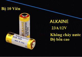 Combo 10 viên pin ANKALINE cao cấp 12V 23A không chảy nước độ bền cao dùng cho điều khiển từ xa,bút trình chiếu,chuông của, cửa cuốn...(Vàng) thumbnail