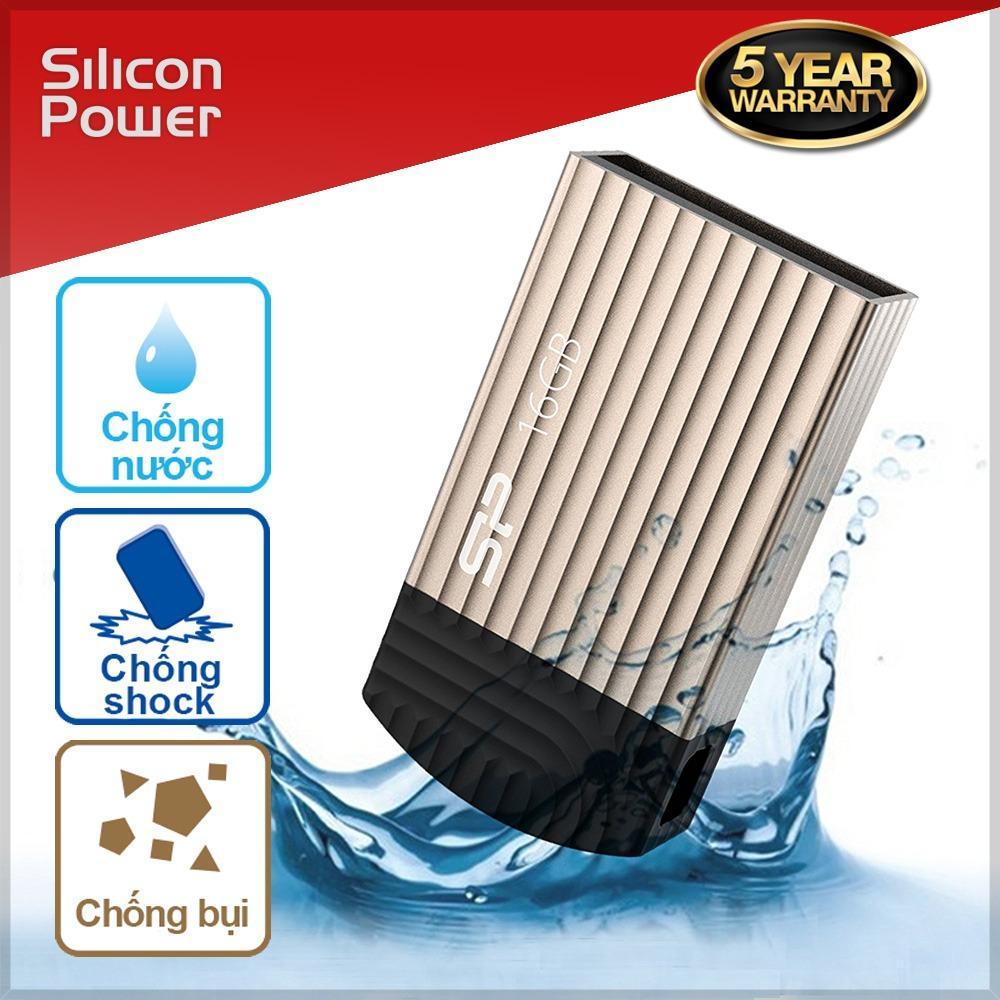 Usb 16Gb Chống Thấm Nước Chống Shock Silicon Power T20 Hang Phan Phối Chinh Thức Mới Nhất
