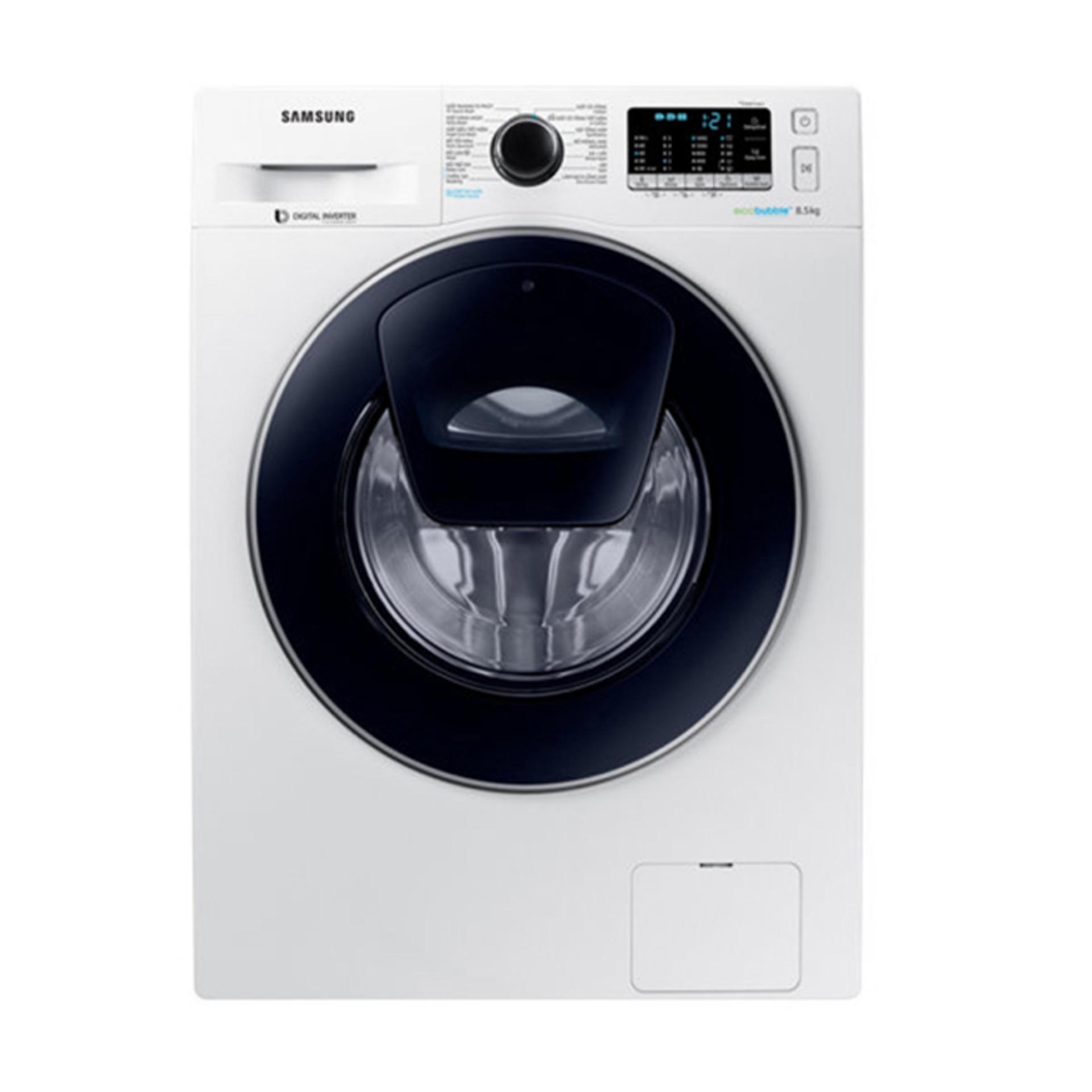 Máy giặt cửa trước AddWash Inverter Samsung WW85K54E0UW/SV 8.5kg (Trắng)