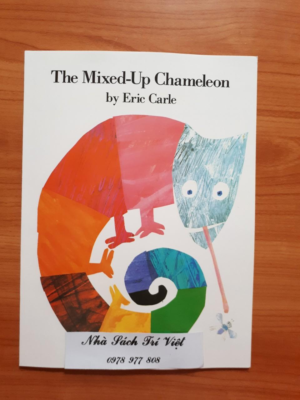 Tác Giả Eric Carle: The Mixed-Up Chameleon +tặng File Nghe Mp3 By Nhà Sách Trí Việt.