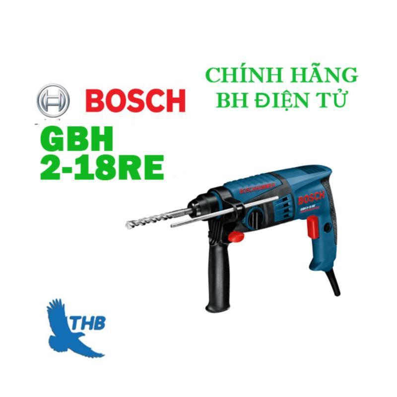 Máy khoan búa Bosch GBH 2-18 RE + Tặng chụp hứng bụi