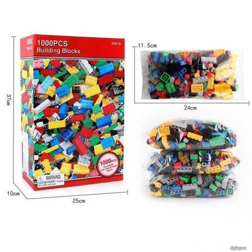 Hình ảnh Bộ xếp hình lego, 1000 chi tiết cho bé