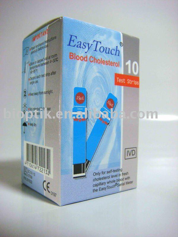 Que thử đường huyết dùng cho máy Easy Touch ET322 ( 25 Que )