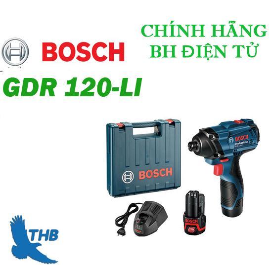 Máy bắt vít dùng pin Bosch GDR 120 LI