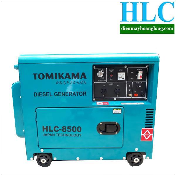 Máy phát điện chạy dầu Tomikama HLC 8500