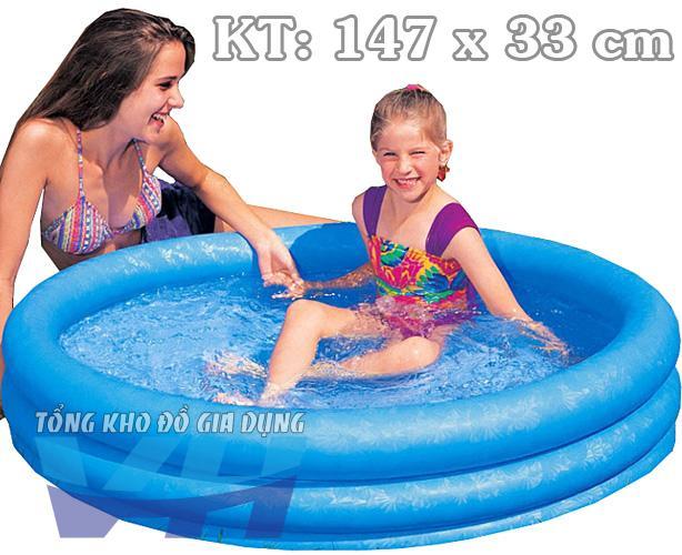 Bể cho trẻ nhỏ 3 tầng 147x33 cm Intex 58426