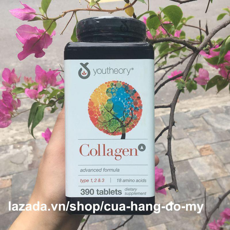 Viên Uống Collagen Youtheory Advanced Formula 390 Viên