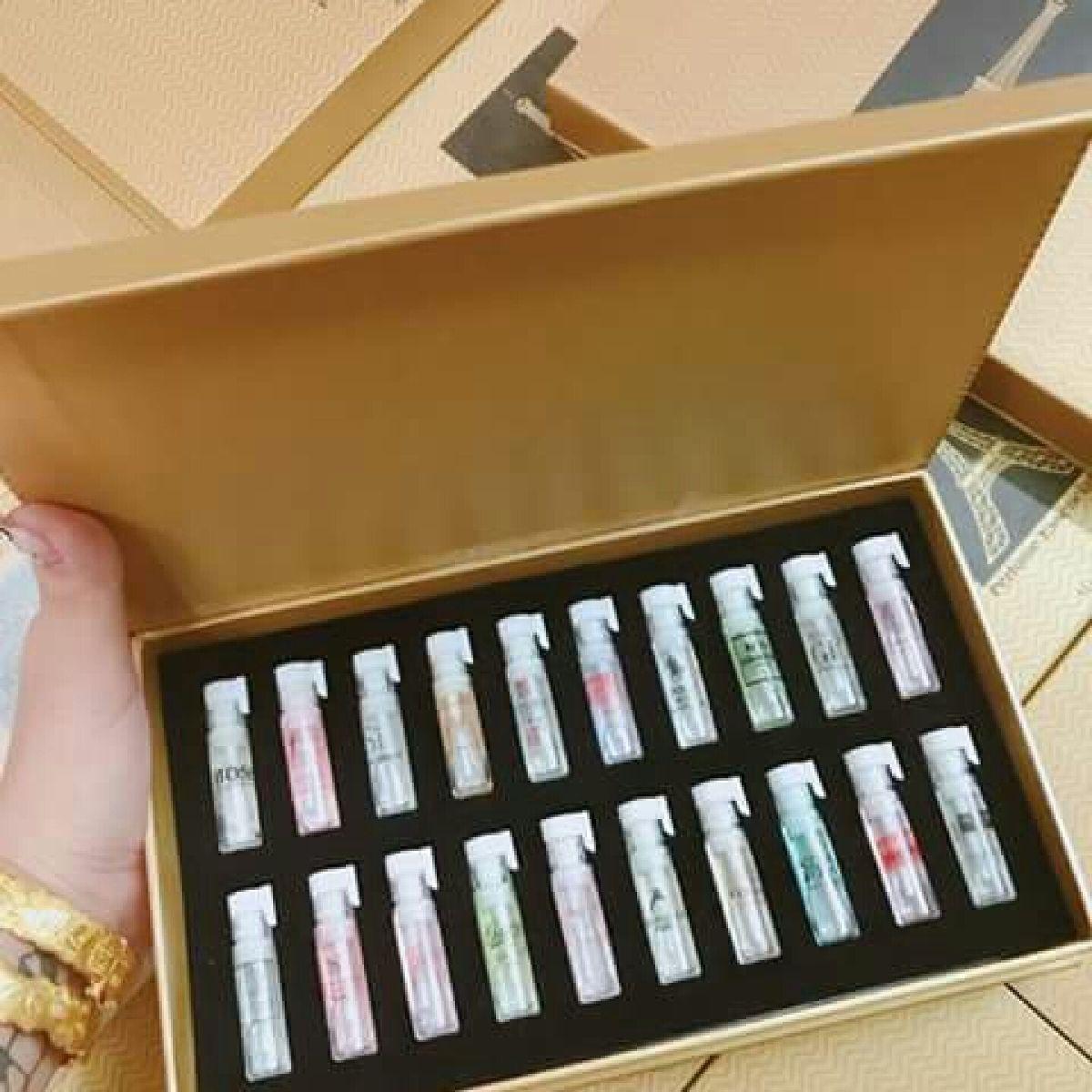 Set 20 ống nước hoa của các thương hiệu nổi tiếng Pháp 2ml
