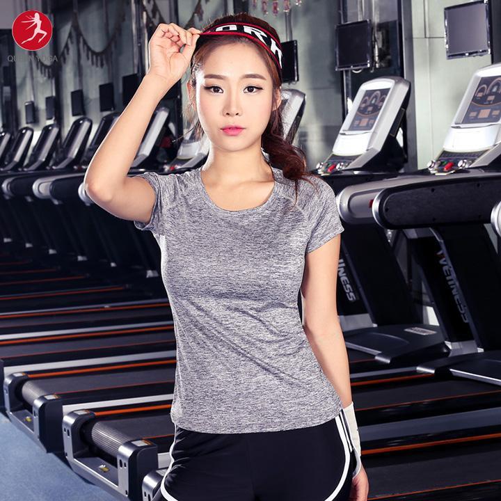 Cửa Hàng Ao Tập Yoga Chất Lượng Cao Ao Thun Tập Yoga Gym Cho Nữ Trực Tuyến
