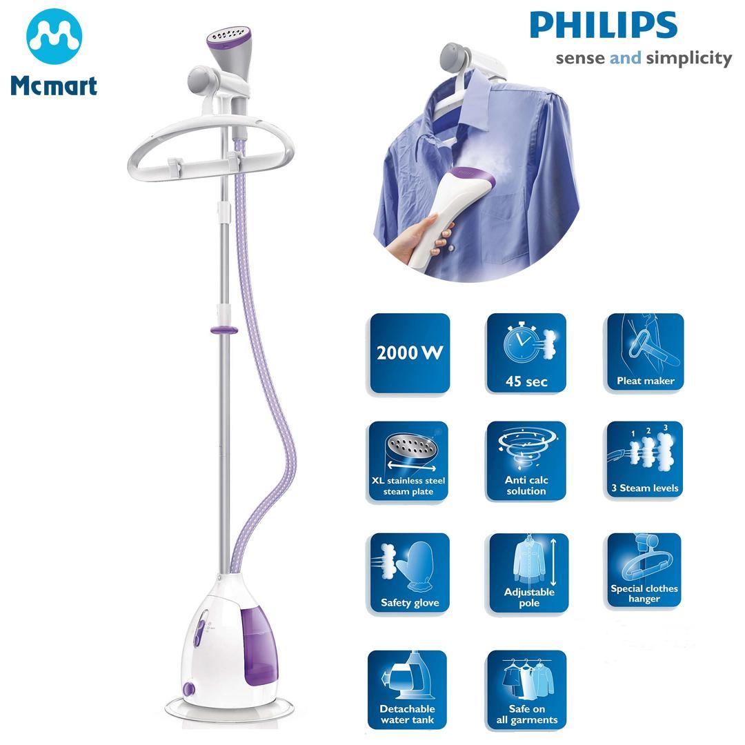 Hình ảnh Bàn ủi hơi nước đứng Philips GC536. (Tím) - Hàng nhập khẩu - Hàng nhập khẩu
