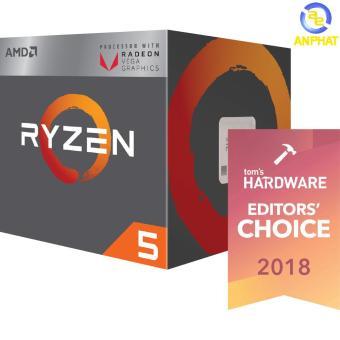Đánh giá CPU AMD Ryzen 5 2400G 3.6 GHz (3.9 GHz with boost) / 6MB / 4 cores  8 threads / Radeon Vega 11 / socket AM4 / 65W (cTDP 45-65W) giá sốc - Giá  chỉ ...