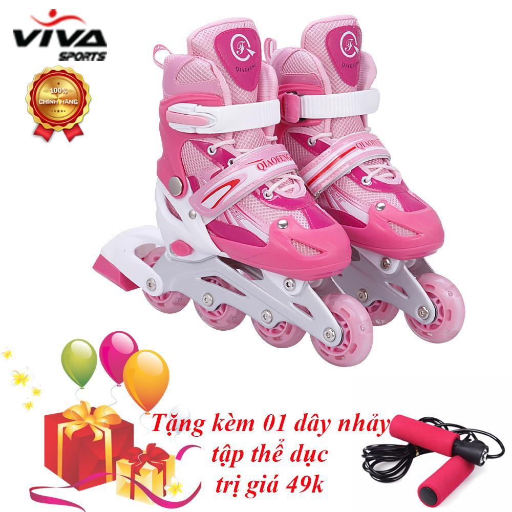 Bán Giay Trượt Patin Cao Cấp Size L Đồ Bảo Hộ Viva Sport Tặng 1 Day Nhảy Rẻ Trong Hồ Chí Minh