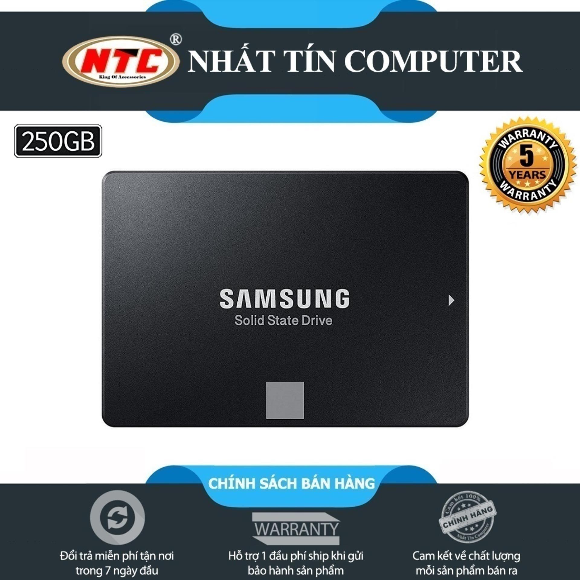 Hình ảnh Ổ cứng SSD Samsung 860 Evo 250GB 2.5-Inch SATA III - box Hoa (Đen) - Bảo hành 5 năm