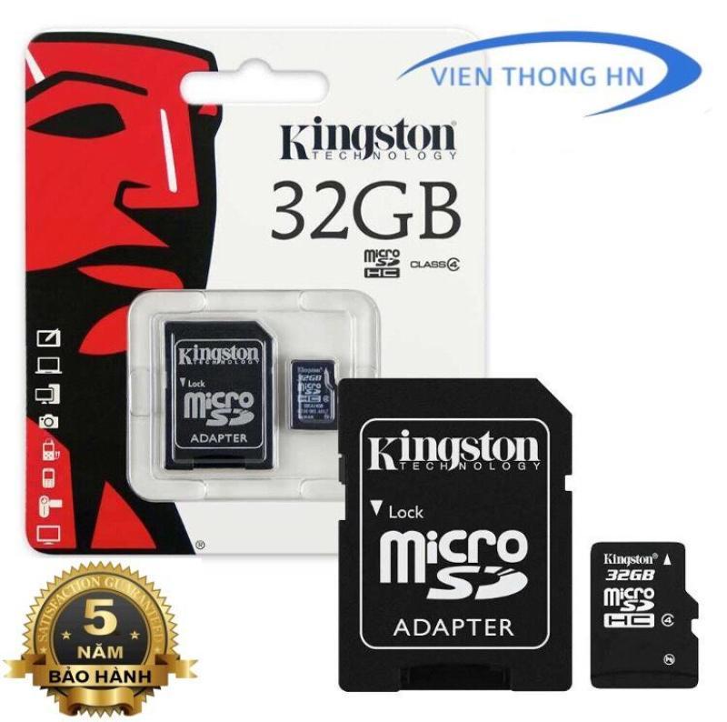 Thẻ nhớ Kingston 32GB Micro SDHC Class10 - KÈM ADAPTER