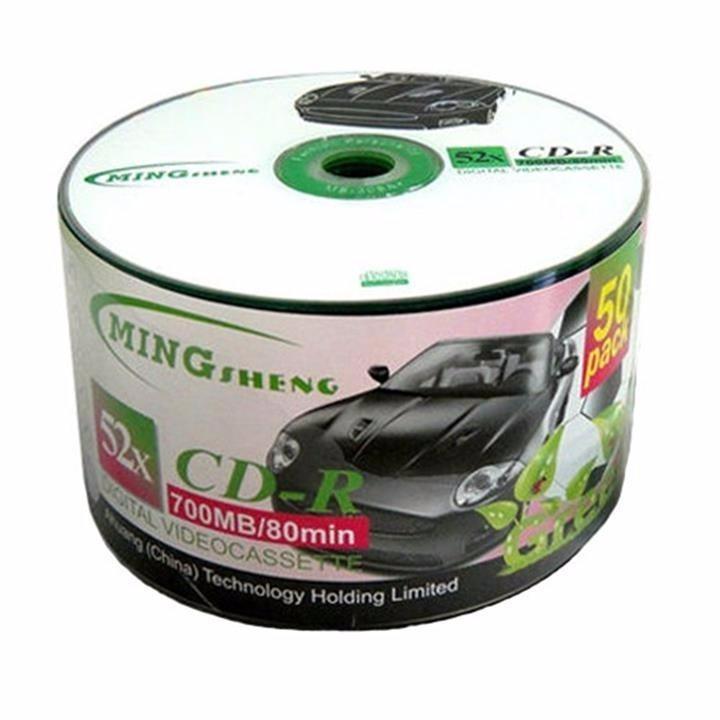 Hình ảnh Bộ 50 đĩa trắng CD Mingsheng 52x