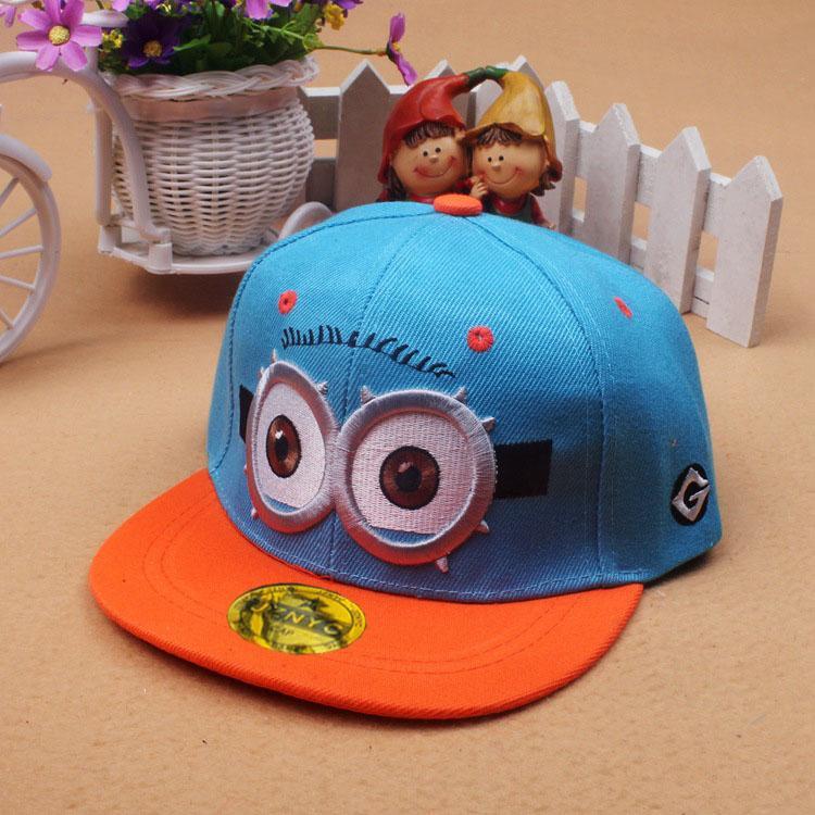 Mũ nón hè trẻ em Hiphop Minion cho bé trai- MH39