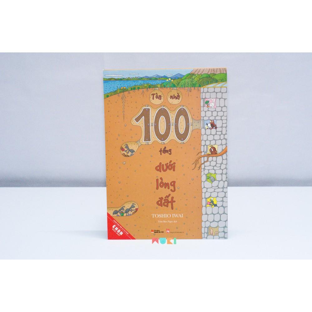 Mua Sách Ehon - Tòa nhà 100 tầng dưới lòng đất