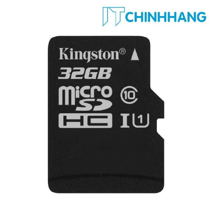 Thẻ nhớ KINGSTON Micro SDHC 32GB Class 10 80MB/s
