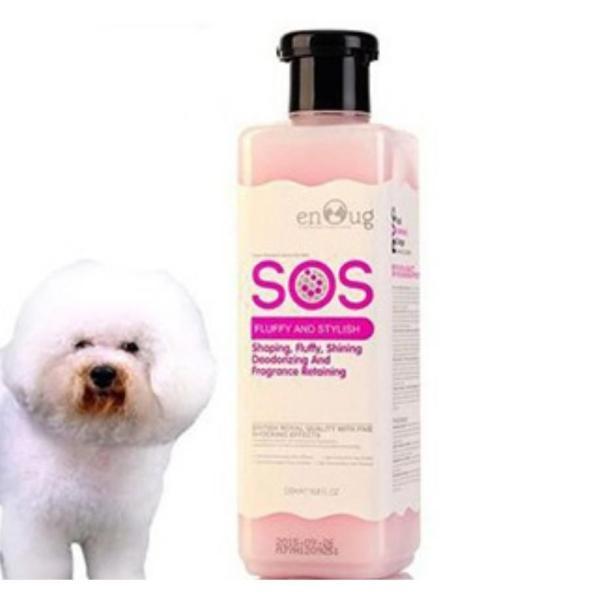 HN-Sữa Tắm SOS - chai 530ml cho chó mèo (hanpet 366b) dầu tắm chó / mượt lông chó / dầu gội chó mèo / dầu gộ