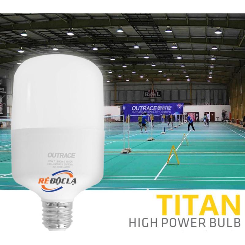 Bóng đèn Led bulb Trụ 30W Outrace ( Ánh sáng trắng ) - Led Cao Cấp- LED SHOP