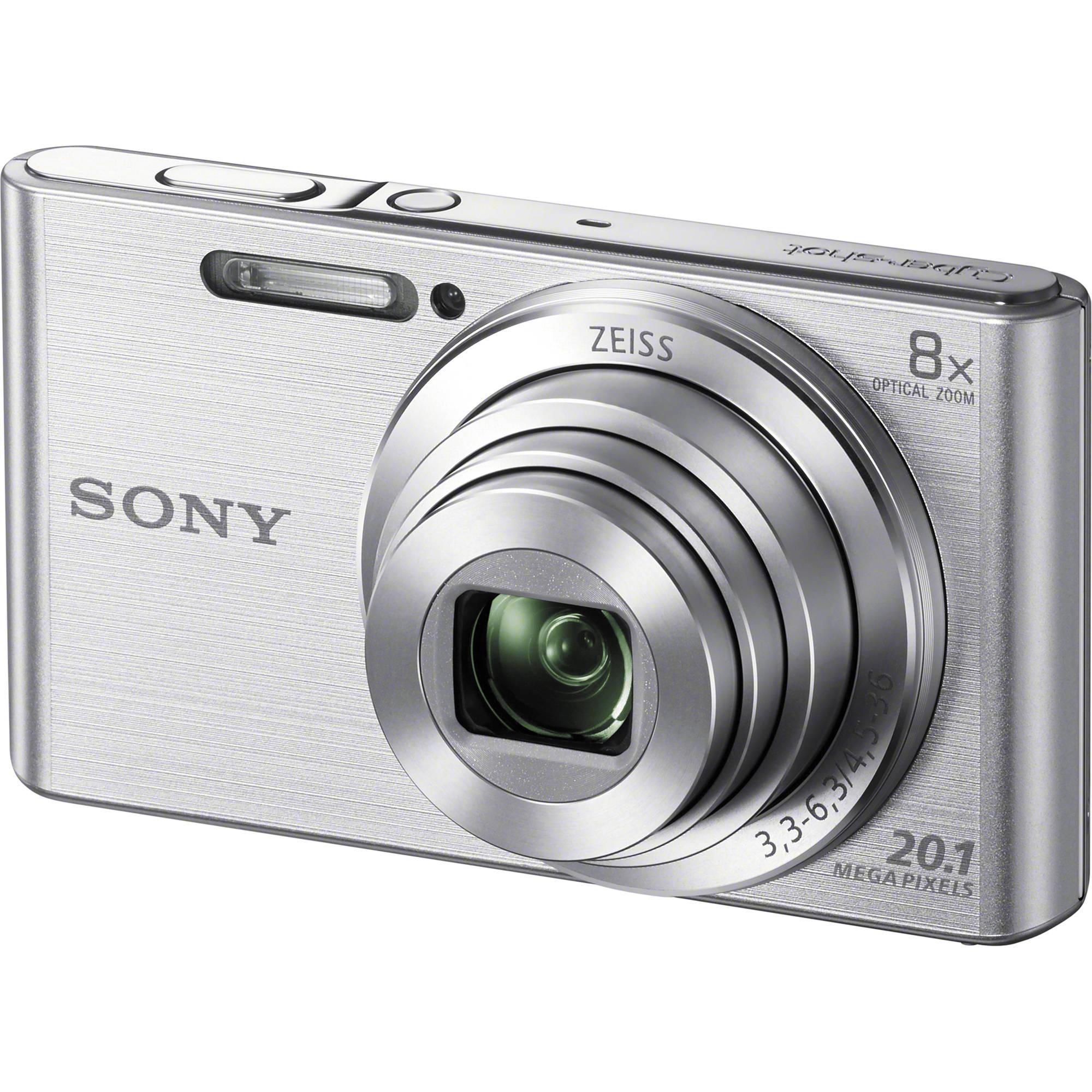 Offer tại Lazada cho Máy ảnh Sony Cybershot DSC-W830 Bạc