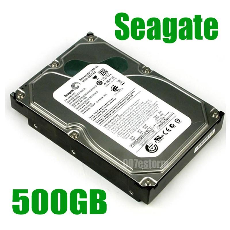 - Ổ cứng HDD 500G Seagate BH 12T dùng cho PC Nhật Bản