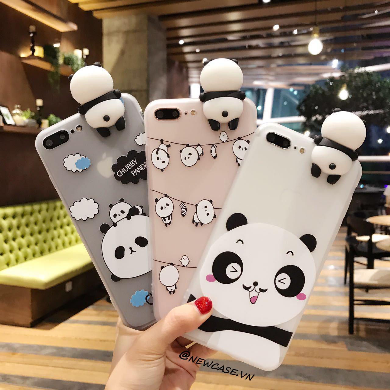 Hình ảnh Ốp lưng dẻo con gấu hoạt hình ngộ nghĩnh thú leo - Iphone 5, 6, 6plus, 7, 7plus, 8, 8plus, X