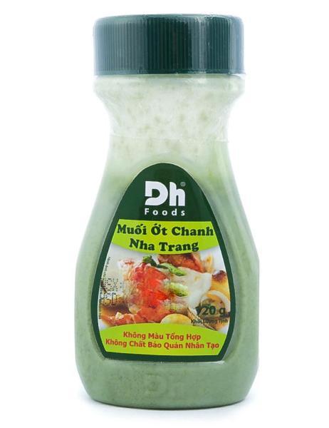 Muối Ớt Chanh Nha Trang Dh Foods Hủ 120G